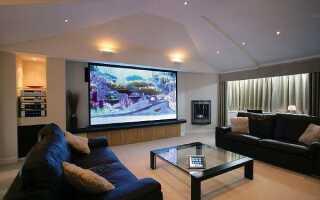 Расстояние от дивана до телевизора: таблица оптимальных и минимальных норм
