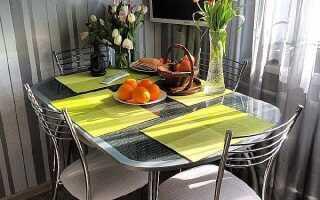 Стандартная высота кухонного стола: от пола до столешницы