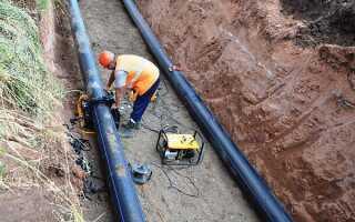 Минимальное расстояние от водопровода до фундамента здания: СП (нормы СНиП)