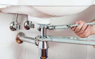 Высота раковины в ванной: стандарты от пола