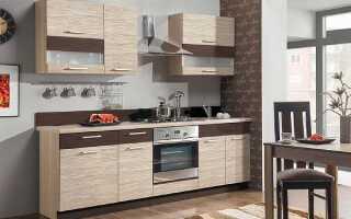 Высота верхних и нижних шкафов кухни: стандарты от столешницы и пола