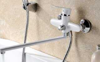 На какой высоте ставить смеситель над ванной от пола: стандарт установки по СНиП (СП)