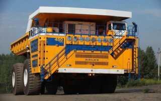 Какая высота БелАЗа: технические характеристики, размеры в длину и ширину