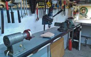 Какой высоты сделать верстак в гараже: оптимальный и стандартный варианты