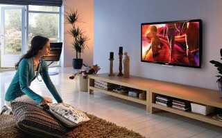 Расстояние от пола до телевизора на стене: для спальни, гостиной, кухни и зала