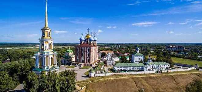 Расстояние от Москвы до Рязани: сколько км ехать на машине, время в пути на электричке