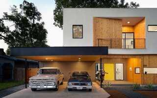 На каком расстоянии от забора можно строить гараж: нормы СНиП по закону