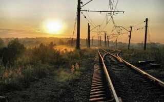 На каком расстоянии от железной дороги можно строить дом: здание до жд по нормам СНиП (СП)