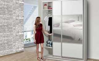 Стандартная высота полок в шкафу-купе для одежды: оптимальный размер