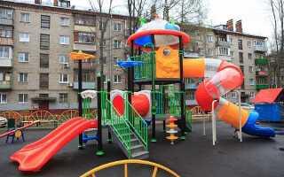 Расстояние от детской площадки до парковки и жилого дома: нормы СНиП (СП) и СанПиН