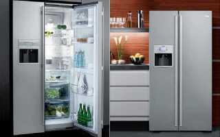 Стандартная высота холодильника: встроенный, двухдверный и двухкамерный агрегат