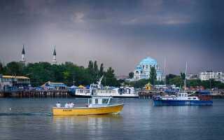 Расстояние от Симферополя до Евпатории: сколько км ехать на машине от аэропорта