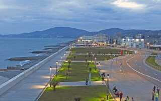 Расстояние от Адлера до Сочи: сколько км ехать от аэропорта на машине, на автобусе