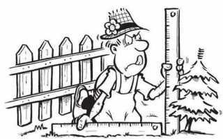 Расстояние от дома до забора соседа: нормы СНиП 2019 по закону на участках СНТ и ИЖС