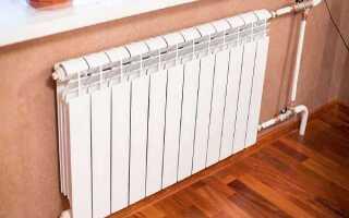 Расстояние между радиатором и стеной: отопление по нормам СНиП