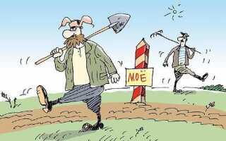 Отступ от границы участка при строительстве жилого дома: норма СНиП и закон