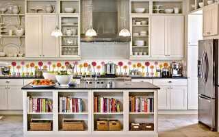 Расстояние между верхними и нижними шкафами на кухне: гарнитур по стандарту