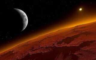 Среднее расстояние от Солнца до Марса: в километрах и в а. е.