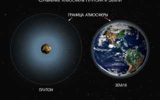 Расстояние от Земли до Плутона: километры и световые года