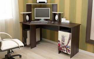 Стандартная высота компьютерного стола: оптимальный ГОСТ