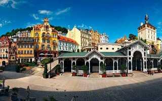 Расстояние от Праги до Карловых Вар: сколько км и времени ехать на машине или автобусе