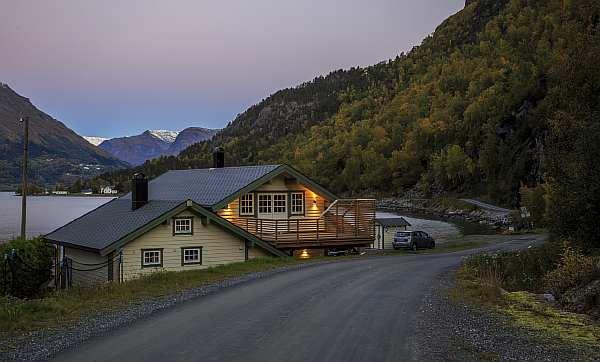 Расстояние от дома до дороги