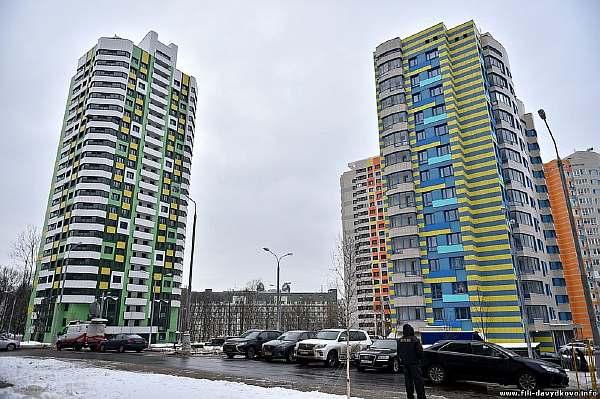 Шестнадцатиэтажные дома