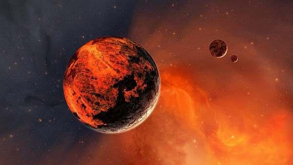 Над планетой