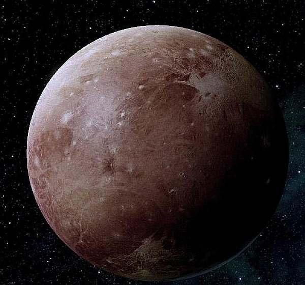 Планета в пространстве