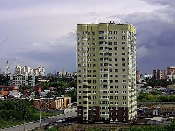 Высота 17-этажного дома
