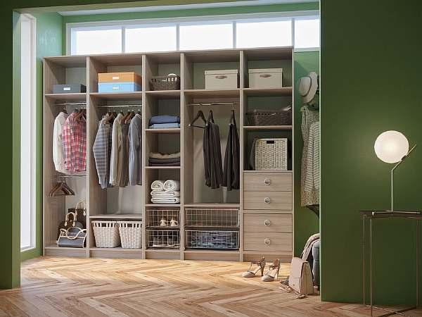 Высота полок в шкафу