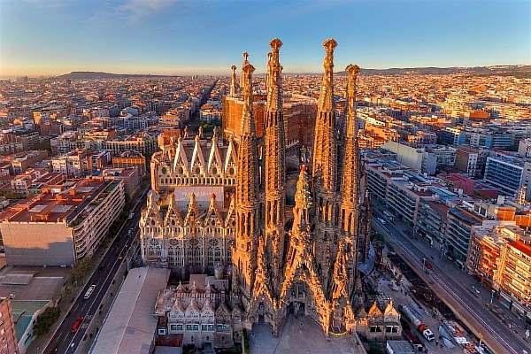 Расстояние от Барселоны до Валенсии