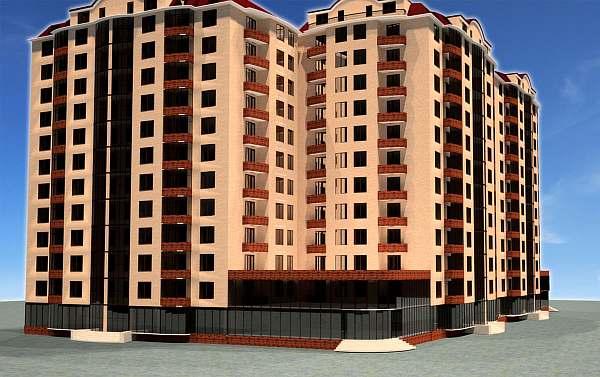 Высота жилого здания