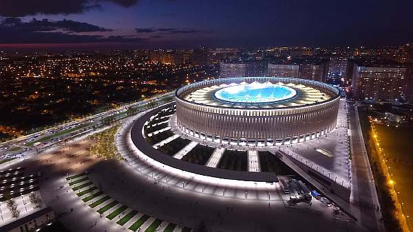Стадион в городе