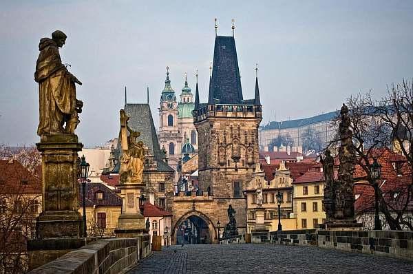 Расстояние от Праги до Карловых Вар