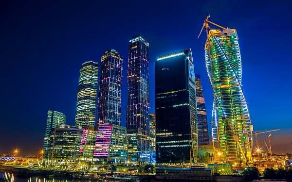 Вечером в Москве