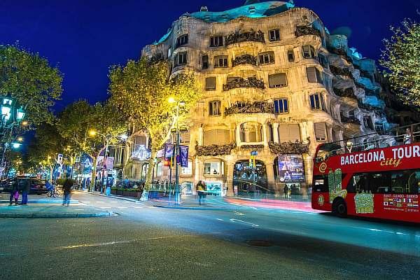 В Барселоне