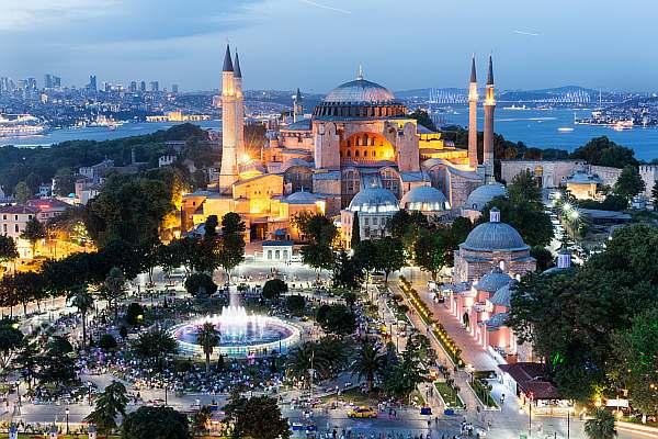 Вечером в Стамбуле