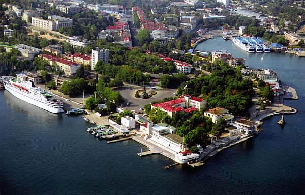 Расстояние от Севастополя до Ялты