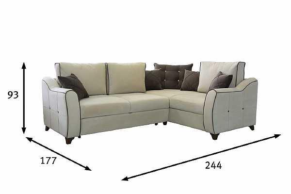 Размеры дивана для кухни