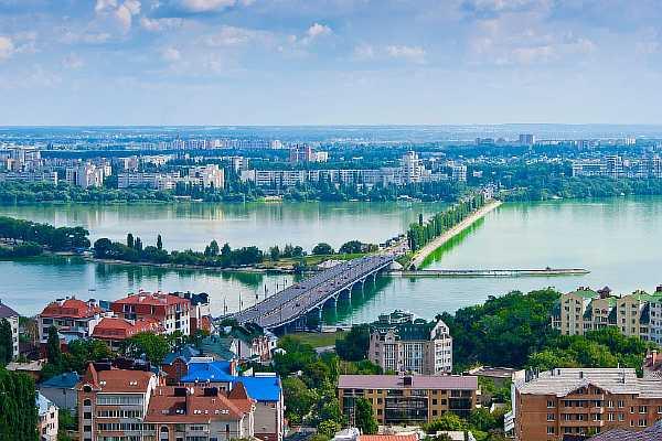 Расстояние от Москвы до Воронежа