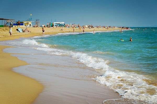 Пляж на море