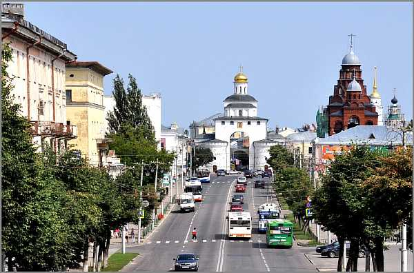 Расстояние от Москвы до Владимира