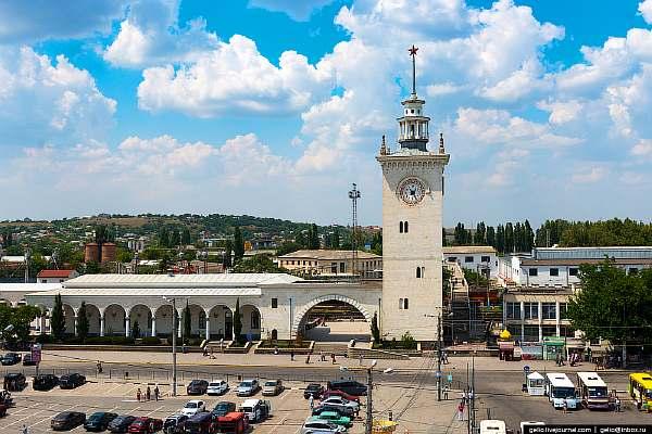 Расстояние от Симферополя до Евпатории
