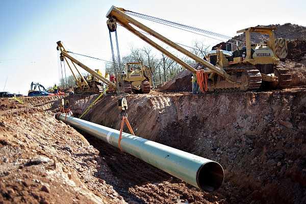 Прокладка трубопровода на даче