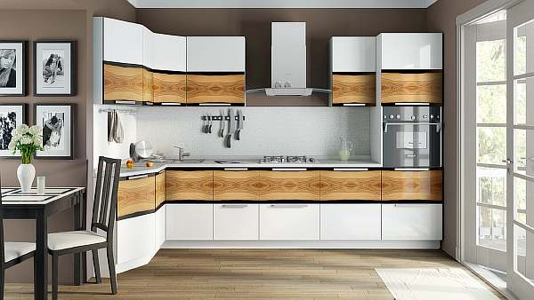 Расстояние от столешницы до навесных шкафов на кухне