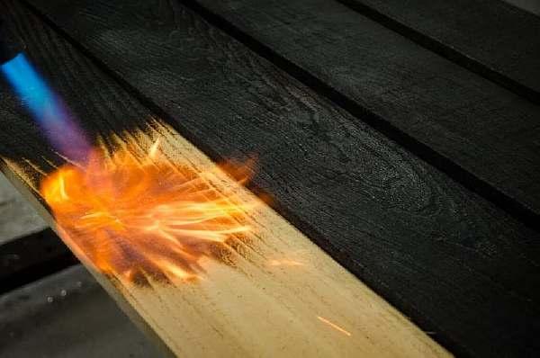 Огонь и доска