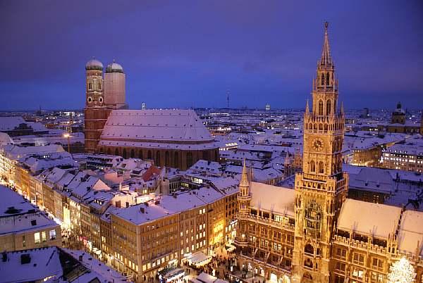 Зимой в Мюнхене