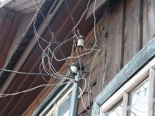 Незаконное подключение к электросети