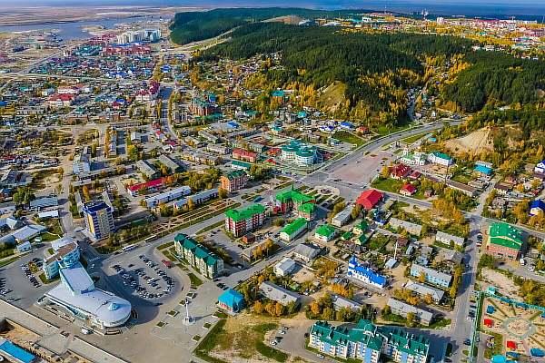 Ханты-Мансийск днем